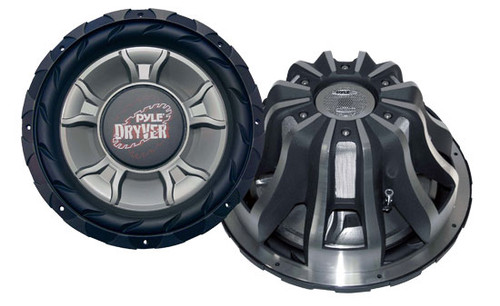 1 x  Pyle PLD1 x 5WD 1 x 5'' 4000 Watt DVC Subwoofer Sub Car Audio