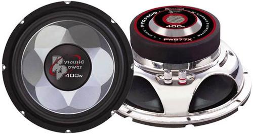 1 x  Pyramid PW677X 6'' 300 Watt Subwoofer Sub Car Audio