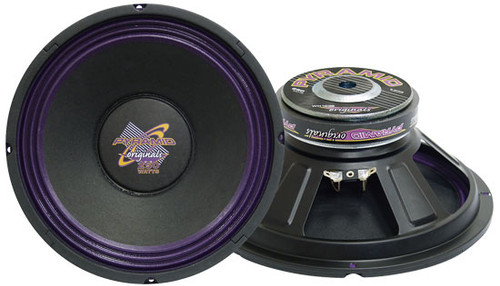 1 x  Pyramid WH1 x 038 1 x 0'' 300 Watt High Power Paper Cone 8 Ohm Subwoofer Sub