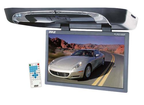 Pyle PLRD195IF 19'' Flip Down w/ Built In DVD SD USB Player with FM/ Modulator & IR
