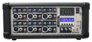 Pyle PMX602M 6 Channel 600 Watts Powered Mixer w/ MP3 DJ Pro