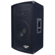 Pyle PADH1279 600 Watt 12'' Two-Way Speaker Cabinet DJ Pro