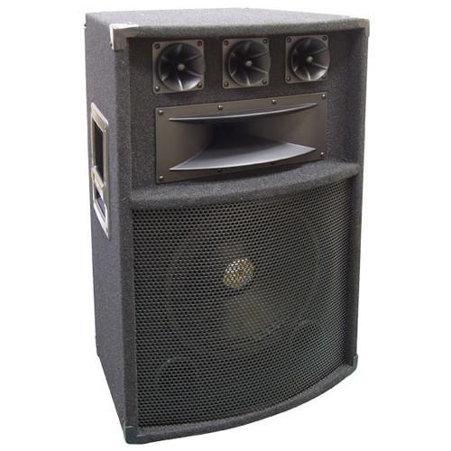 Pyle PADH1289 600 Watt 12'' Five-Way PA Speaker Cabinet DJ Pro