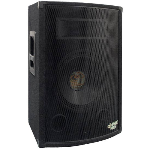 Pyle PADH1579 800 Watt 15'' Two-Way Speaker Cabinet DJ Pro