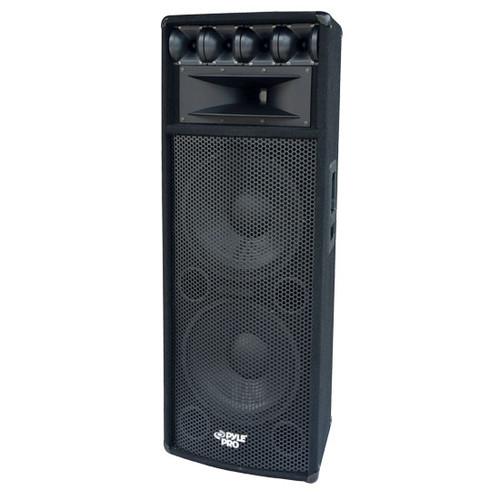 Pyle PADH212  1600W Heavy Duty 7 Way Pa Loud-speaker Cabinet DJ Pro