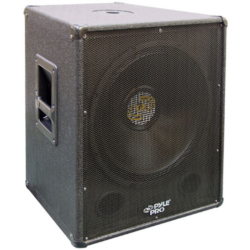 Pyle PASW18 1000 Watt 18'' Stage PA Subwoofer Cabinet DJ Pro