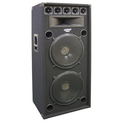 Pyle PADH52 200 Watt Dual 5'' 8-Way Stage Speaker Cabinet DJ Pro