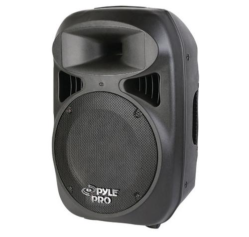 "Pyle PPHP1599AI 15"" 1600W Portable Powered 2 Way Full Range Loud Speaker w/MP3/USB & iPod Dock"