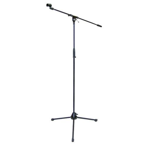 Pyle PMKS2 TriPod Microphone Stand w/Boom DJ Pro Audio