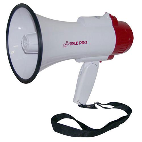 Pyle PMP35R Professional Megaphone / Bullhorn w/ Siren & Voice Recorder