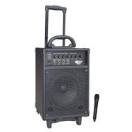 Pyle PWMA330 300 Watt VHF Wireless Battery Powered PA System W/Echo
