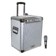 Pyle PCMX240I Battery Powered Portable PA System  W/iPod Docking Station