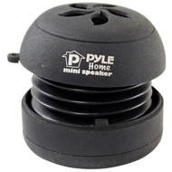 Pyle PMS2B Black Mini Capsule Rechargeable Speaker for Phone MP3 Computer
