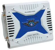 Pyle PLMRA420 4 Channel 1000 Watt Waterproof Marine Bridgeable Mosfet Amplifier