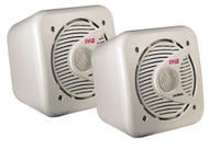 Pair Pyle PLMR53 5.25'' 150 Watt Two-Way Shielded Marine WaterProof Speakers