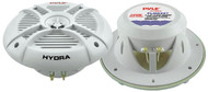 Pair Pyle PLMRX67 250 Watts 6.5'' 2 Way Marine Speakers Kit