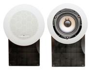 Pair Pyle PLMR66W 5''  High Quality White 500 Watts  Marine Speakers