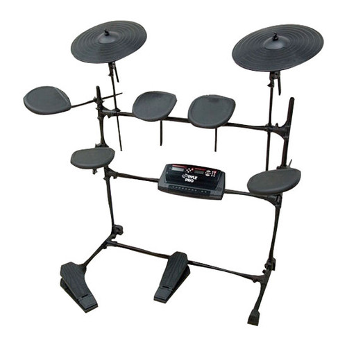 Pyle PED02M Electric Thunder Drum Kit With MP3 Recorder