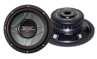 1 x  Lanzar VCW1 x 0D Vector 1 x 0'' Dual 4 Ohm Shallow Subwoofer Sub Car Audio