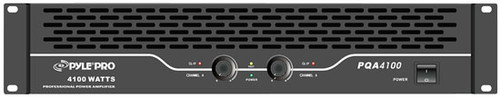 Pyle PQA4100 19'' Rack Mount 4100 Watts Professional Power Amp Amplifier