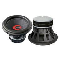 Lanzar OPTI1537D Optidrive 15'' Die-Cast Woven Carbon Fiber Cone Dual 2 Ohm Sub