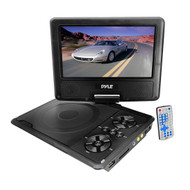 PyleHome PDH9 9'' Portable TFT LCD Monitor w/ Built-In DVD Player MP3/MP4/USB SD Slot