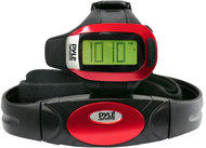 Pyle PHRM24 Speed & Distance Heart Rate Watch w/ USB & 3D walking/Running Sensor