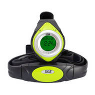 Pyle PHRM38GR Green Heart Rate Monitor Watch, Calorie Counter & Target Zones