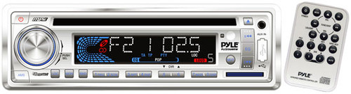 Pyle PLCD36MRW AM FM-MPX IN-Dash Marine CD/MP3 Player/Weather Band/USB & SD Card