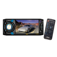 Pyle PLD40MU 4.3'' LCD Touch Screen Car Monitor DVD USB SD MP3 CD RDS Player