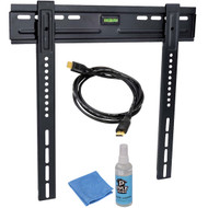 PyleHome PLEDTKIT1 HDTV Video Kit w/Wall Mount HDMI Cable 26'' To 42'' Flat Panel TV