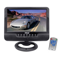 Pyle PLMN7SU 7'' Battery Powered TFT LCD Monitor with MP3/MP4/USB SD Card Player