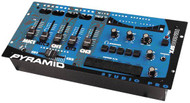 Pyramid PM4800SFX 4 Channel Rack Mount Stereo Do Mixer W/ Sound Effects