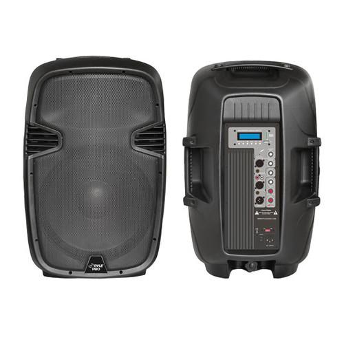 1 x  PPHP1 x 23MU 1 x 2'' 1 x 000Watt Powered 2-Way PA Speaker w/ MP3/USB SD/3.5mm input