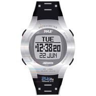 Pyle PSWHRP58 2.4GHz Heart Rate Monitor Watch w/ Step Counter Distance Calories Timer