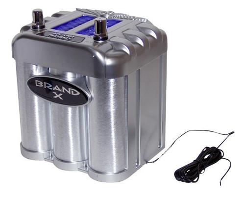 BrandX XFL1400FB 1400 Amp Fast-Batt Battary/Capacitor Combo