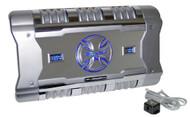BrandX XFLSQ182X4 1204 Watt 4 Ch Amplifier +Digital Voltage/Amperage Display