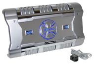 BrandX XFLSQ588X2 588 Watt 2 Channel Mosfet Amplifier with Digital Display