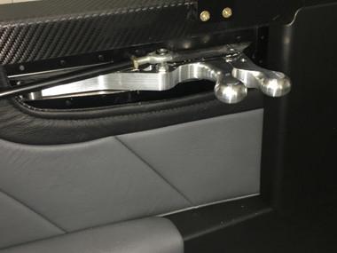 New latch installed in Sean Blair's RV7.
