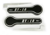 RV-10 Interior Door Handle Covers