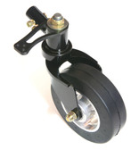 RV-14 Tailwheel assembly with arm and light weight tire-Black