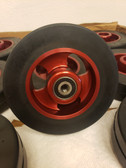 Light Weight tailwheel Anodized Red