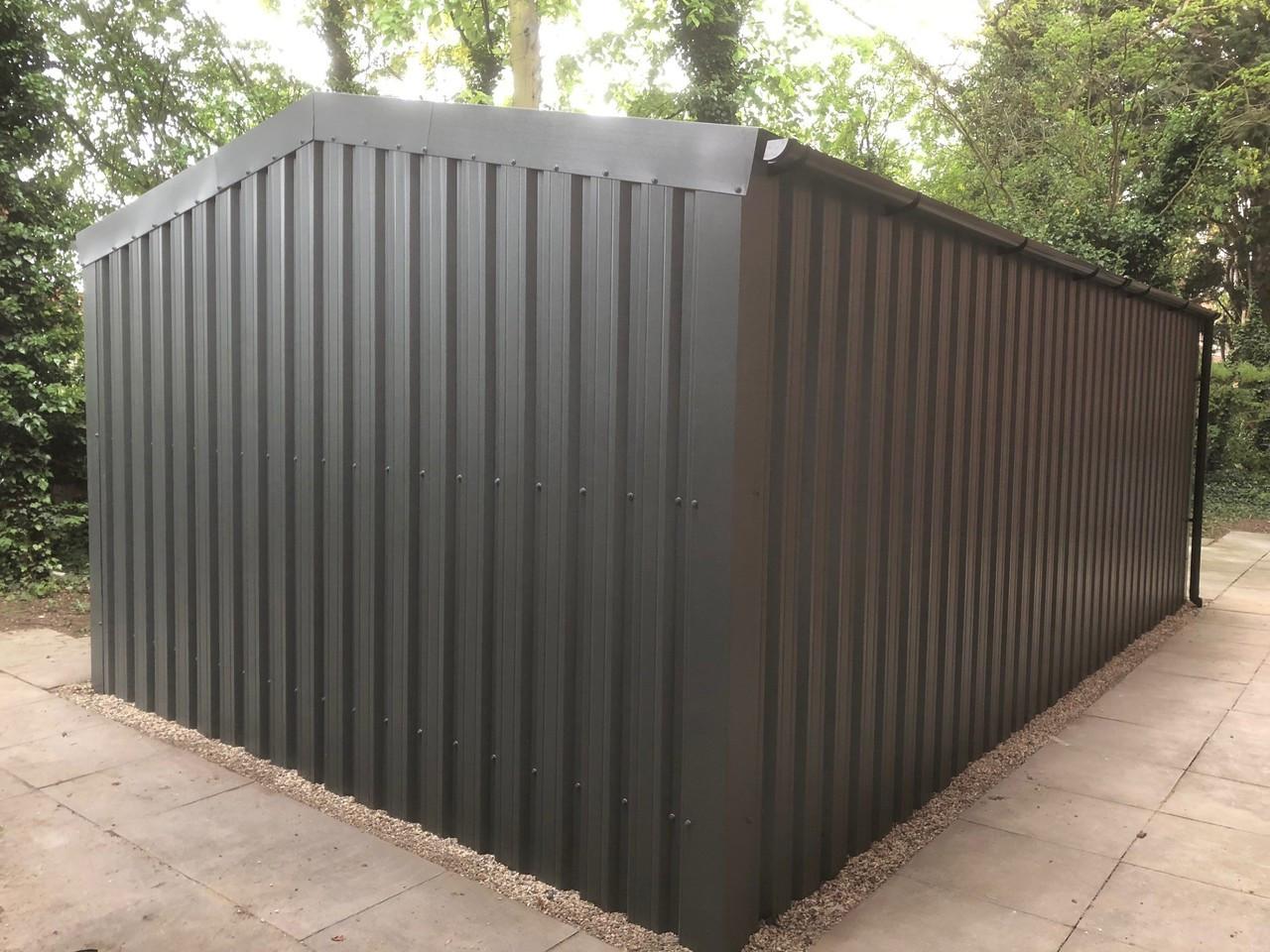 Buy online - SBM - Triple Garage/ Farm Building 6m x 12m x