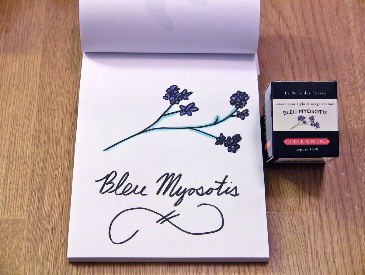 Mực J. Herbin - Màu xanh tím (Bleu Myosotis) -  15 - 30ml