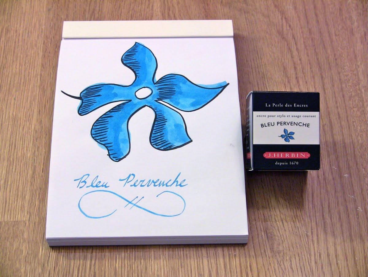 Mực J. Herbin - Màu xanh dương (Bleu Pervenche) -  13 - 30ml
