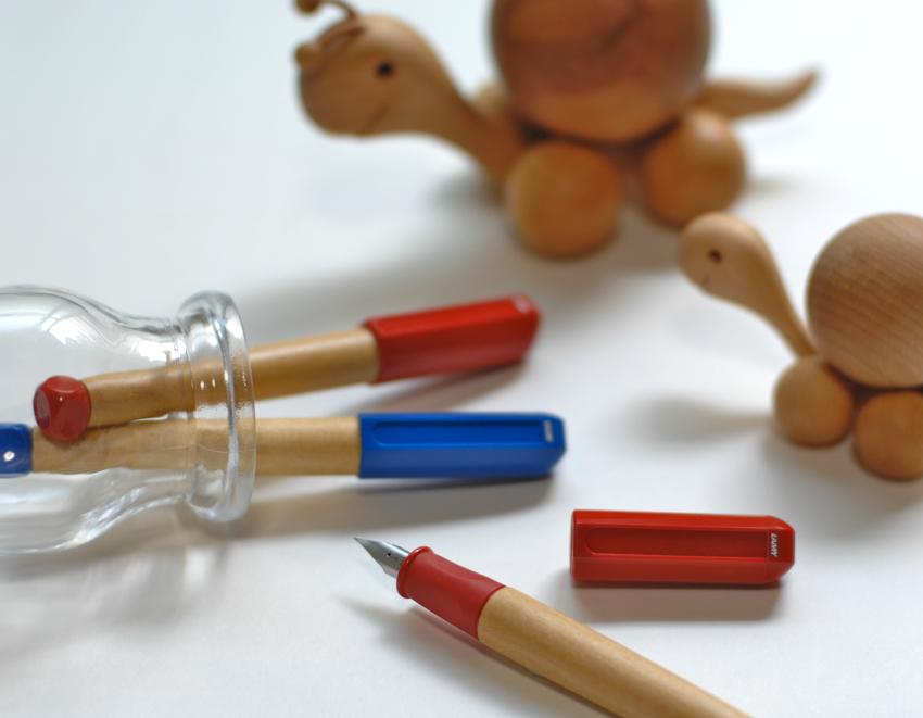 Bút Lamy ABC - Màu đỏ - Ngòi A - L10
