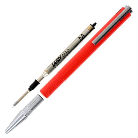 Bút bi Lamy M+ - Màu đỏ (Red) - L204