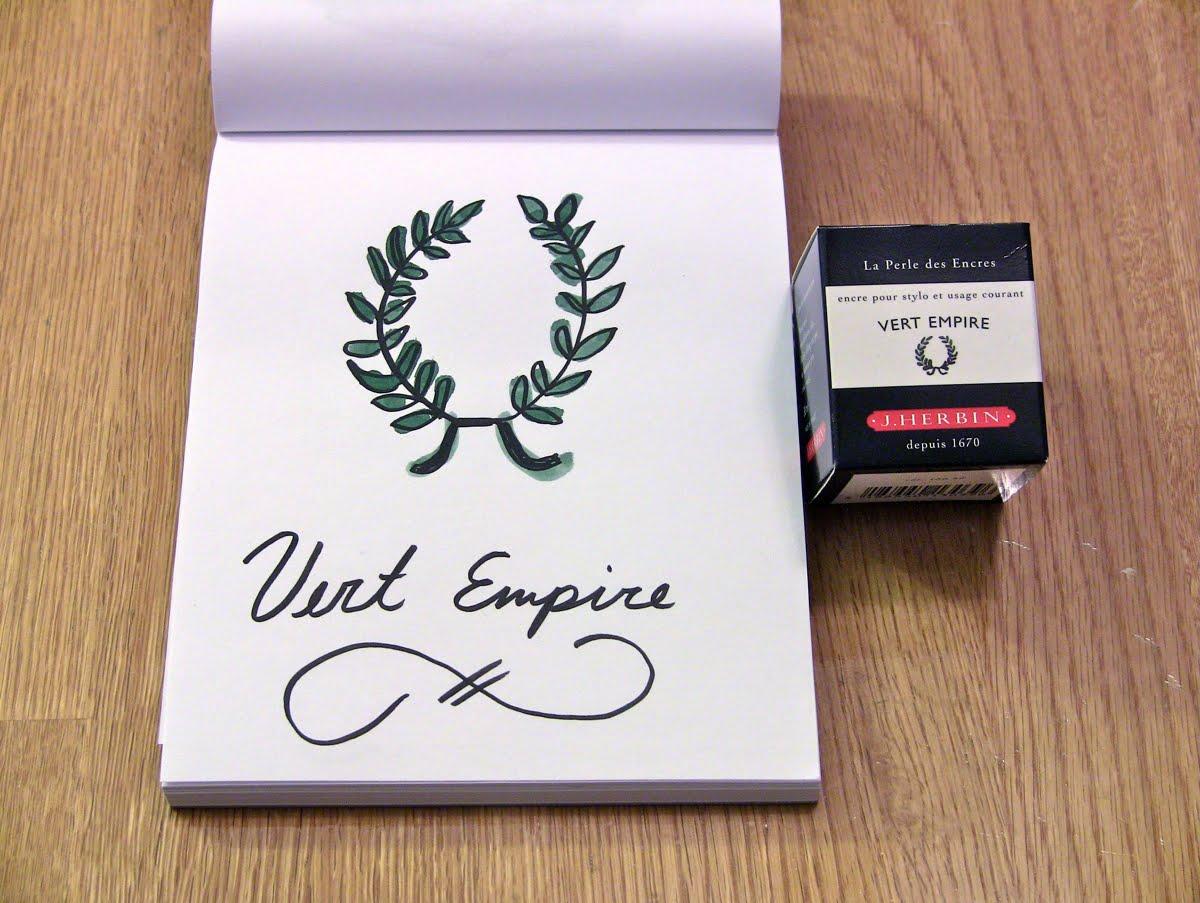 Mực J. Herbin - Màu xanh Empire (Vert Empire) -  39 - 30ml