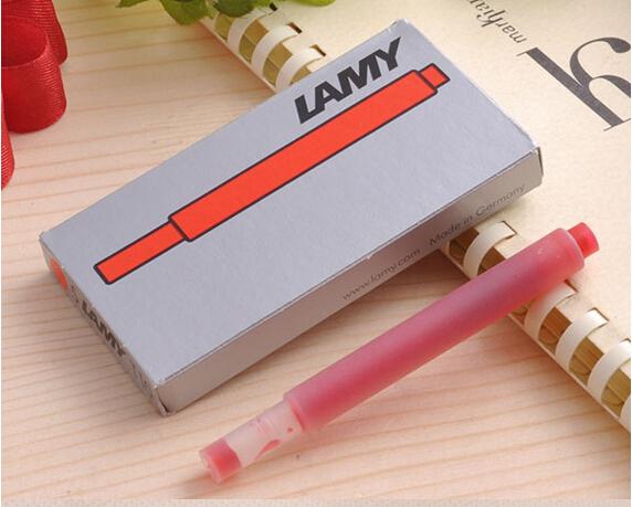 Bộ 5 ống mực Lamy màu đỏ (Red) - T10
