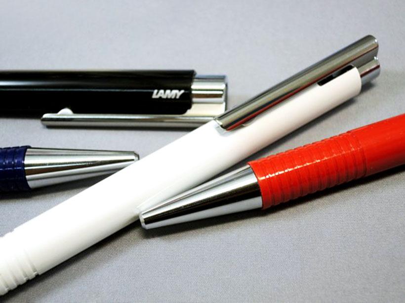 Bút bi Lamy M+ - Màu trắng (White) - L204